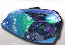 Pair 1M Chameleon Neo Blue Headlight Color Glass/Plastic Lens Tint Film Wrap