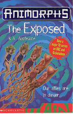 The Exposed (Animorphs), Applegate, Katherine | Paperback Book | Good | 97804390