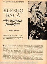 Elfefo Baca - The Courtesous Gunfighter + Genealogy