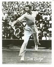 "8 x 10 Glossy Photo Don Dudge Tennis ""The Fire Dragon"""