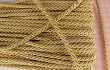 Gold Twist Cord String Twine Anchor Bracelet Rope Chain Jewellery Making Knot