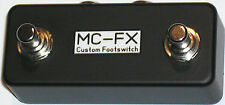 Dual Momentary N/O Footswitch- Drum Machines-Multi FX Units-Tap Tempo- Etc.