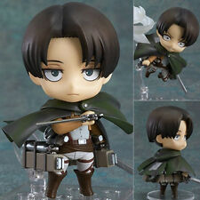 ATTACK ON TITAN/ NENDOROID LEVI RIVAILLE 10 CM #390 WITH BOX 4""