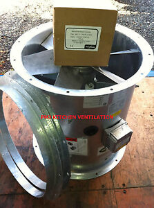 Flakt Woods MaxFan 500 Dia Plus Woods Speed Controller & Flanges Max Fan Canopy