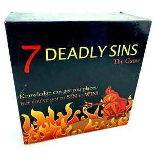 7 Deadly Sins: The Game | 1,890 Trivia Questions, 700 Sins to Act Out | Complete