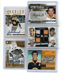JOHNNY BUYCK 12-13 Panini Classic Signatures SP AUTOGRAPH auto BOSTON BRUINS