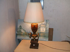 Vintage 70's Coffee Grinder Theme  Table Lamp