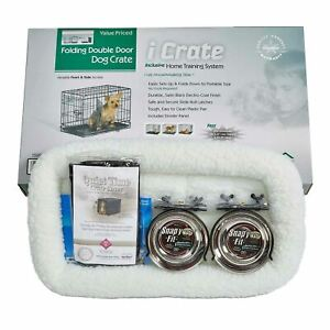 """Midwest iCrate Dog Crate Kit Extra Small 22"""" x 13"""" x 16"""""""