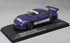 Minichamps Porsche 911 GT3RS Porsche Sport Driving School Ultraviolet 413063256