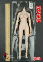 "TBLeague PH S04B 1/6 Female Figure Body Model 12"" Seamless Large Chest Pale Skin"
