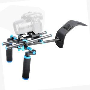 DSLR Rig Support Rod Shoulder Mount for Video Camcorder Camera DV