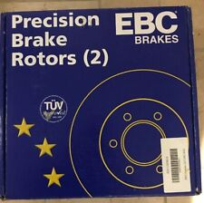For Dodge Charger 06-17 Brake Rotors EBC 3GD Series Sport Dimpled & Slotted