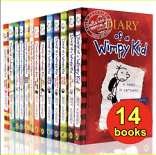 Diary Of A Wimpy Kid Collection 🔥 14 Books 🔥 Set By Jeff Kinney   FDP ✅ �