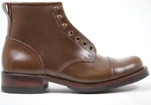 Julian Boots, Bowery Boot, Horween Chrome Excel Vintage Brown, Handmade