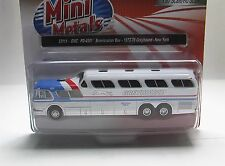 GMC PD 4501 Pepsi Greyhound Bus New York    1:87 Classic Metal Works  33111