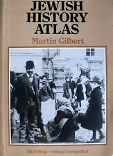 MARTIN GILBERT JEWISH HISTORY ATLAS (ATLANTE STORIA EBRAICA) WEIDENFELD NICOLSON