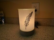 "Scentsy ""QUILL"" Parlor Shade base, Edison Bulb Lampshade Collection. Full Size"