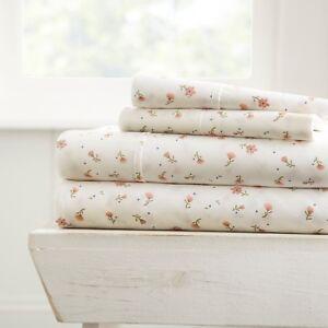 Linen Market Premium Hypoallergenic Ultra Soft Patterned Sheet Set