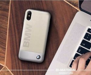 Genuine BMW Signature Logo Leather Case for iPhone X & XS