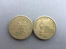 Pièce monnaie SRI LANKA CEYLON CEYLAN 5 RUPEES 1999 CRICKET état voir scan