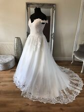 Bridal Gown/Wedding dress,Ball gown,off the shoulder ,Ivory,Size 14,BrandNew