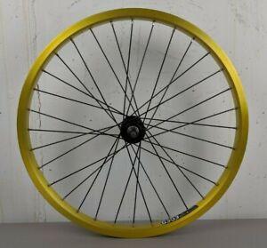 """Front 20"""" G303 XRIM ALEXRIMS GOLD Aluminum Rim Bike Wheel 406 x 24mm 6061-T6"""