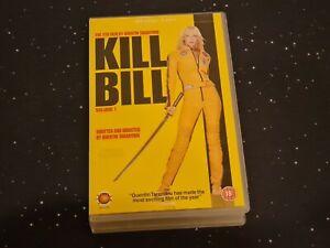 Kill Bill Vol.1 ~ Miramax VHS Big Box Ex Rental ~ Uma Thurman, Lucy Lui