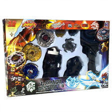 Beyblade Lot Set w Beat Lynx Screw Spiral Fox L-Drago Guardian - USA SELLER!
