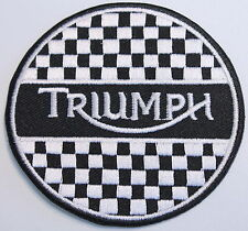 TRIUMPH B/W PATCH (PWP012)
