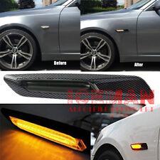 LED Carbon BMW  Abbiegelicht Seitenblinker 1er E81 E82 3er E90 E91 5er E60 X1 X3