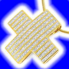 Reinheit IF Echte Diamanten-Anhänger aus Gelbgold