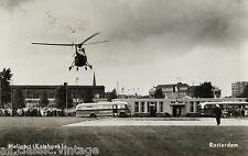 Postcard 665 - Aircraft/Aviation Heliport (Katshoek) Rotterdam Helicopter