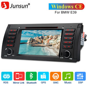 """For BMW E39 E38 7"""" Car Radio DVD CD Player Stereo GPS Nav Bluetooth Windows CE"""