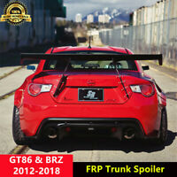 GT86 Trunk Spoiler GT Wing for Toyota 86 Subaru BRZ Coupe 2012-2018 Unpainted