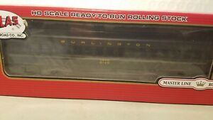 BURLINTON HWT SINGLE WINDOW COACH by ATLAS CAR # 6145