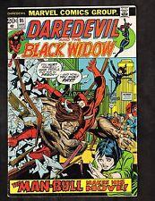 "Daredevil #95 ~ Black Widow / ""Bullfight on the Bay!"" ~ 1973 (5.0) WH"
