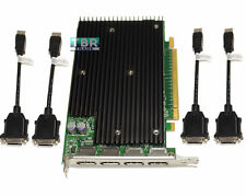 HP Nvidia Quadro NVS 450 512mb PCI-e DisplayPort Video Graphics Card 4 monitor