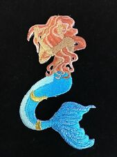 mermaid applique Patch gift embroidered iron gift idea beach ocean on #17