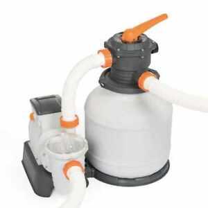 Pompa Filtro A Sabbia Bestway 58499 Flowclear Da 7.570 lt/h Per Piscina