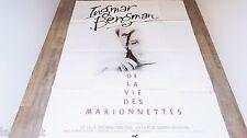 ingmar bergman LA VIE DES MARIONNETES !  affiche cinema