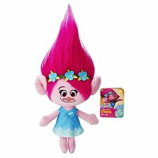 "DreamWorks Trolls Poppy Hug 'N 14"" inches Plush Doll BRAND NEW with Tags"