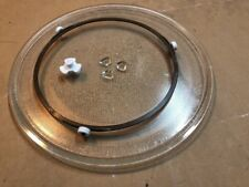 """13 1/2"""" GE WB49X10114 Microwave Turntable & Plate Glass Tray Support WB06X10705"""