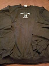 Hard Rock Cafe Houston, Black Embroidered Sweatshirt, X- Large (XL), Vintage