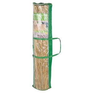 100x500cm Bamboo Reed Slat Screening Garden Privacy Fencing Outside Panel Rolls