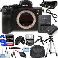 Sony Alpha a7R IV Mirrorless Digital Camera (Body Only) + 64GB + Tripod Bundle