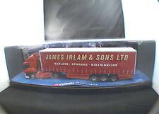 Corgi n° 75401 Leyland Daf Curtainside James IRLAM truck 1/50 neuf boîte/boxed