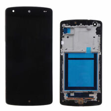 DISPLAY LCD TOUCH SCREEN ASSEMBLATO LG NEXUS 5 D820 D821 COMPLETO CORNICE FRAME