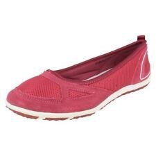 Zapatos planos de mujer rosa, talla 38