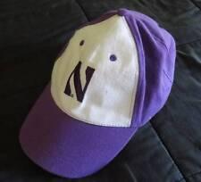 NORTHWESTERN University Purple White WILDCATS Baseball Adult CAP Adjustable Hat