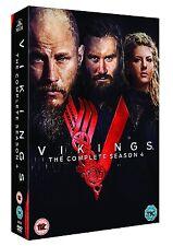 Vikings Complete Season 4 [DVD] NEU Komplette Series Staffel Vier Alle Episoden